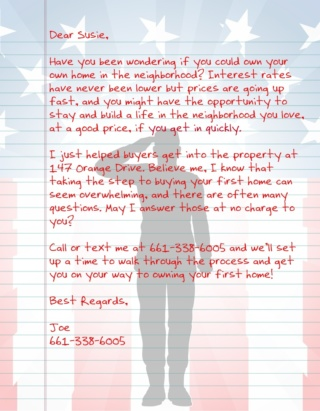 Patriot Letter USA AGT 2