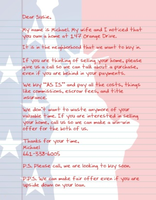 Patriot Letter USA REI 5